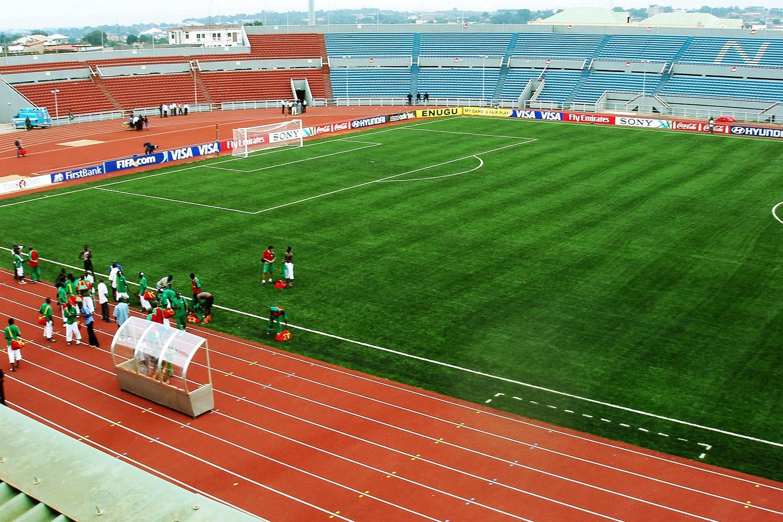 nijerya enugu stadyumu nizami futbol sahasi 3